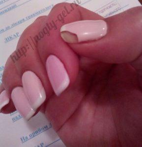 3.Не держится гель лак на ногтях
