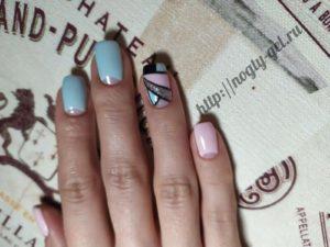 3.Геометрия на ногтях гель лаком