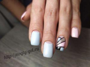 2.Геометрия на ногтях гель лаком