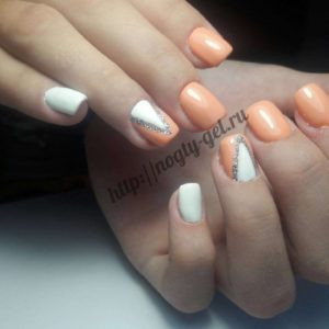 6.Геометрия на ногтях гель лаком