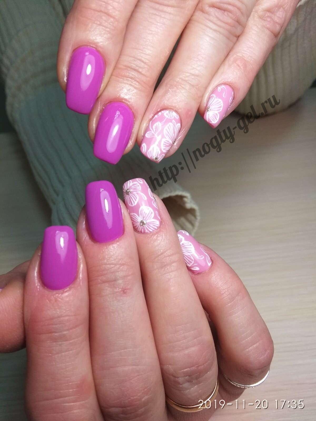 Как рисовать гель лаком на ногтях?