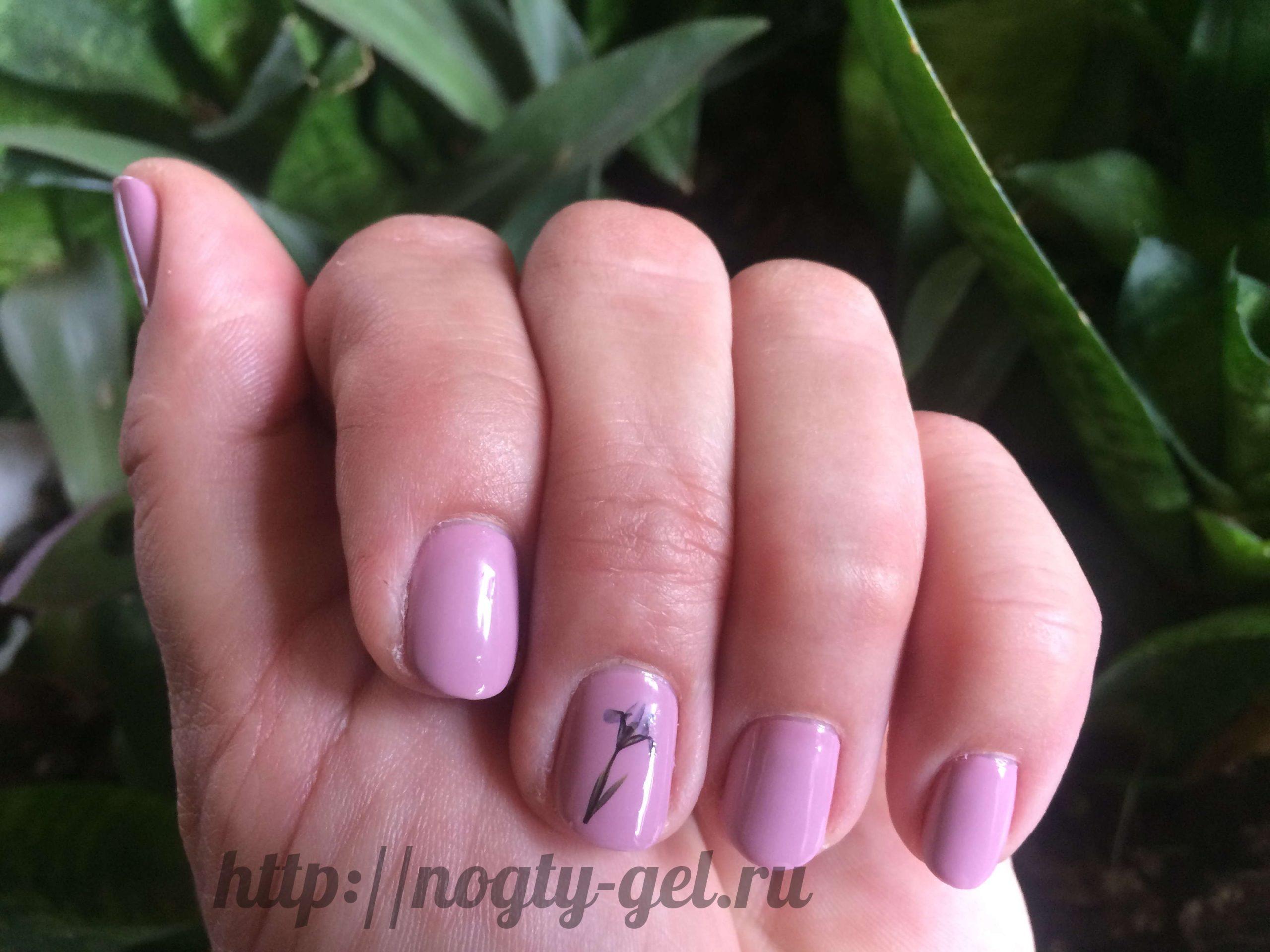 2.Как рисовать гель лаком на ногтях?