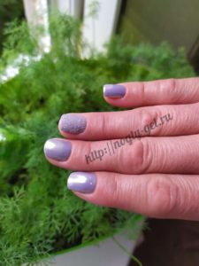 4.Гель ногти однотонные.