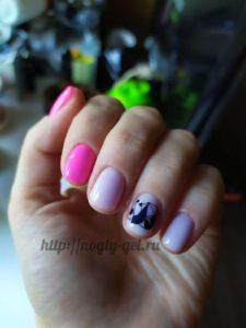 3.Рисунки гель лаком на ногтях.