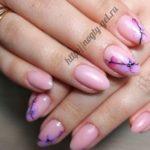 Простой дизайн ногтей гель лаком для начинающих.