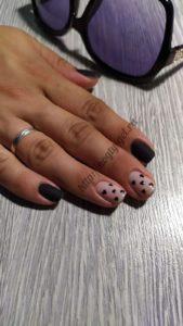 6.Рисунки гель лаком на ногтях.