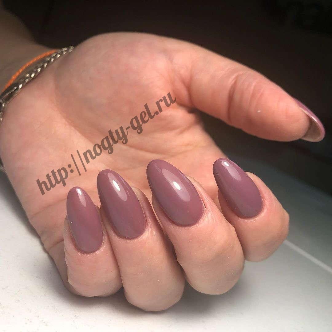 1.Гель лак ногти.