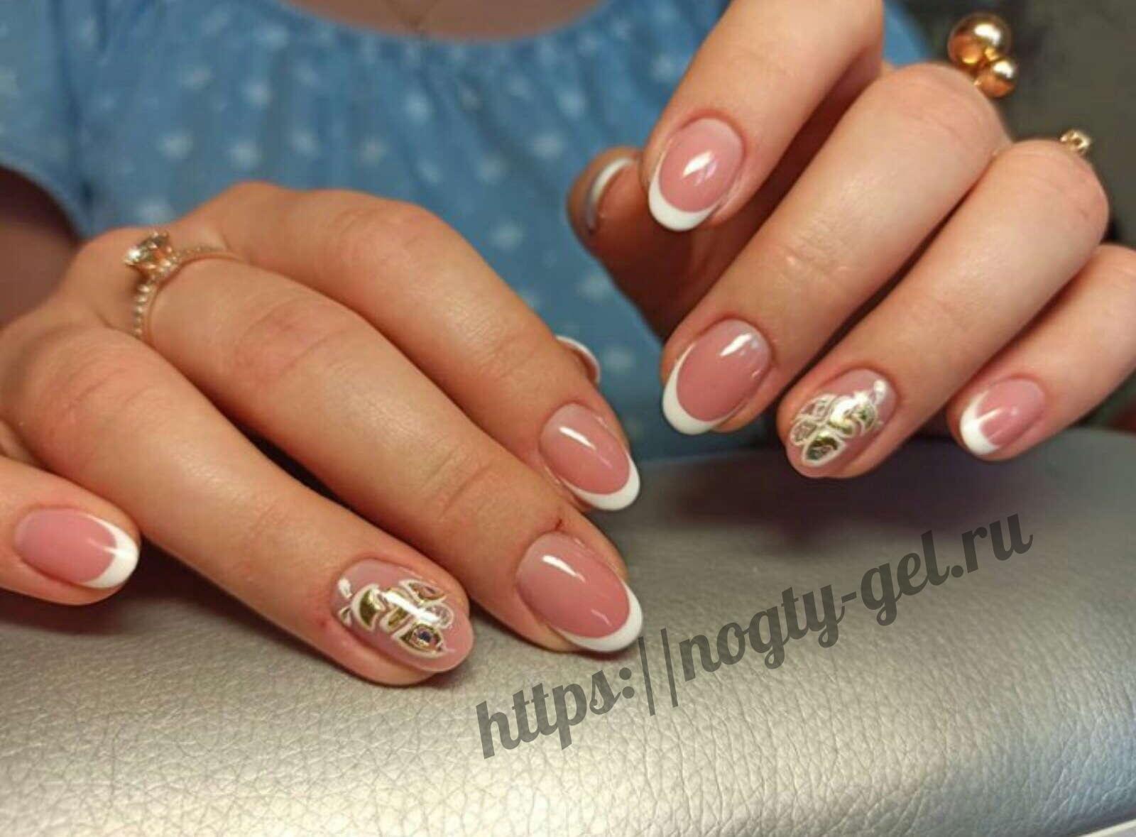 1.Красивые ногти гель лаком фото.