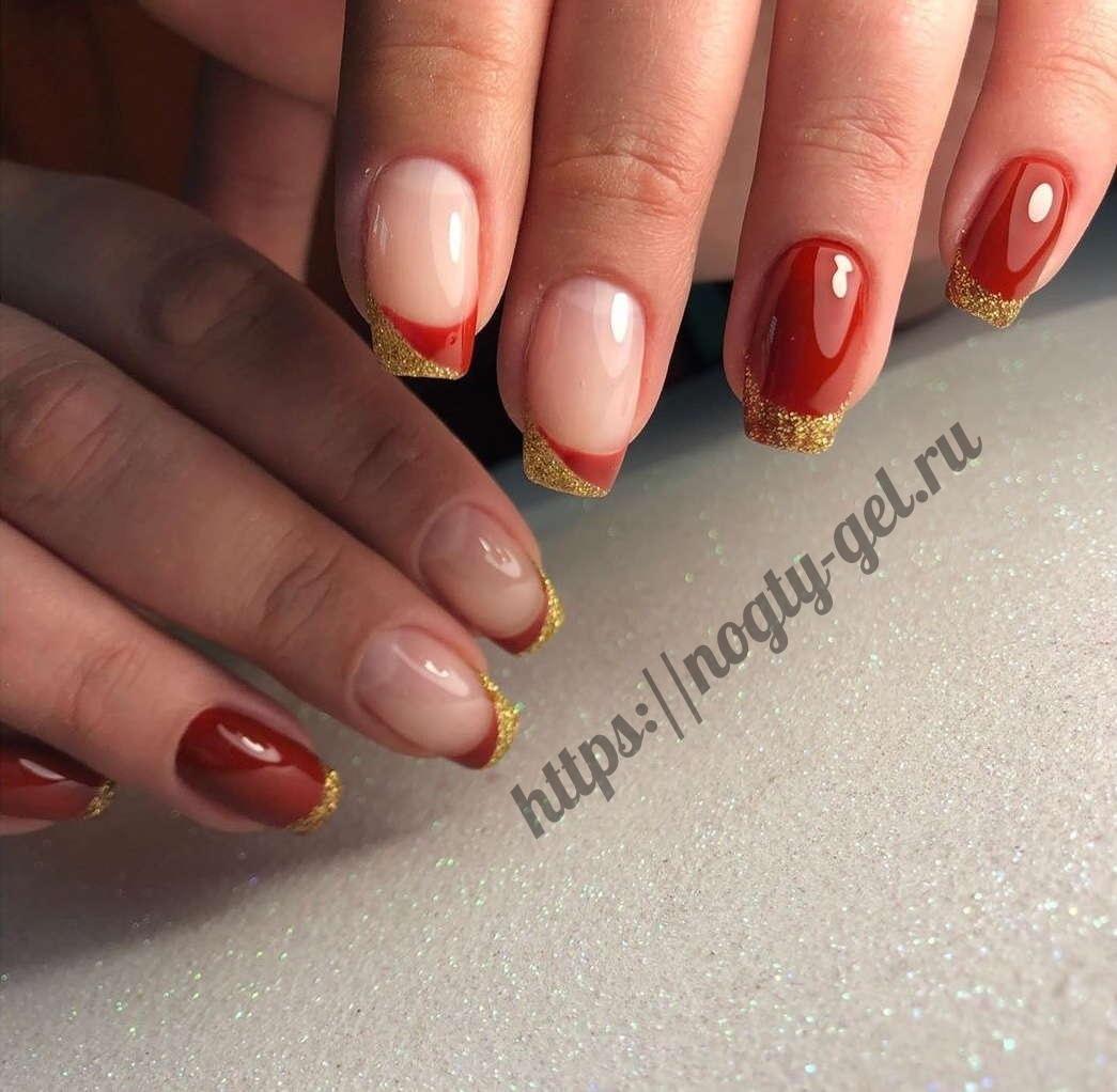 Красивые ногти гель лаком фото.