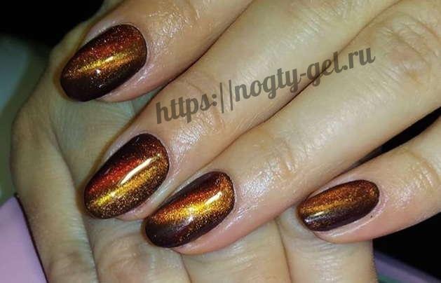 3.Ногти короткие гель