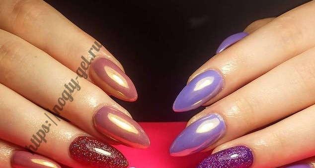 2.Ногти дизайн гель