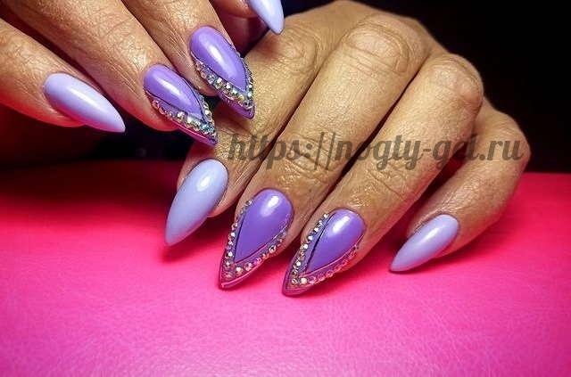 11.Ногти дизайн гель