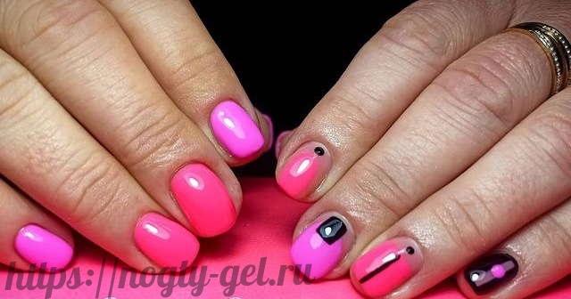 4.Ногти дизайн гель