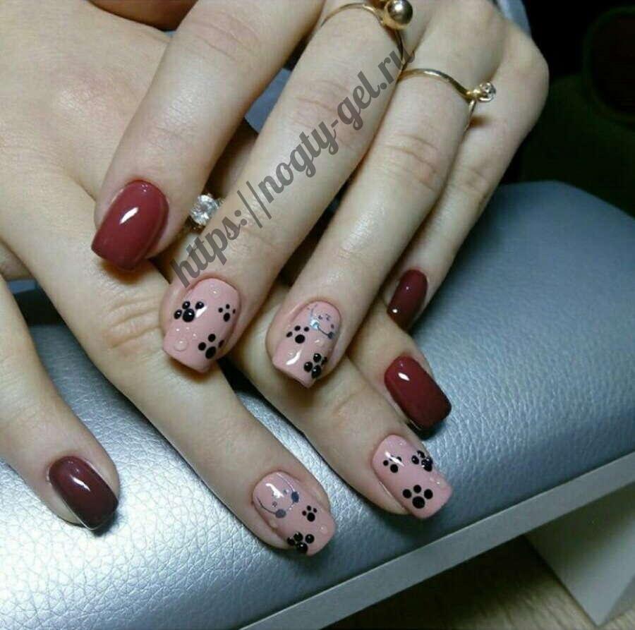 1.Лепка на ногтях акрилом