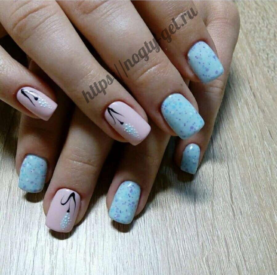 3.Лепка на ногтях акрилом