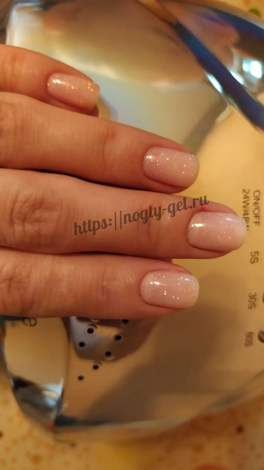 4.Шиммер для ногтей