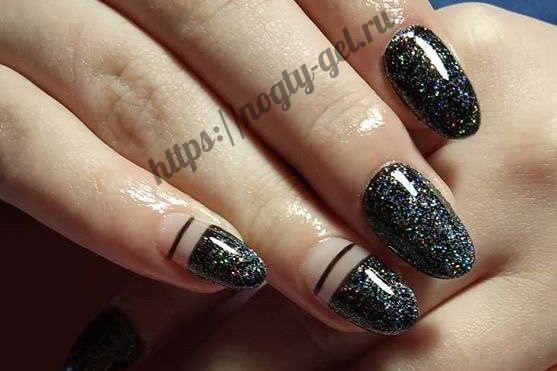 7.Шиммер для ногтей