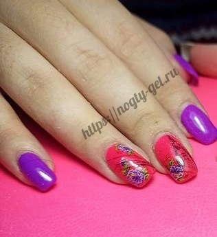 3.Коррекция ногтей гелем